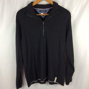 Tommy Hilfiger Black QuarterZip Pullover
